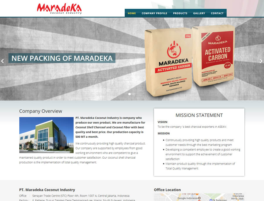 MARADEKA COCONUT INDUSTRY